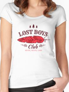 Lost Boys Club // Peter Pan Women's Fitted Scoop T-Shirt