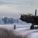 Time to go: Lancasters on dispersal by Gary Eason