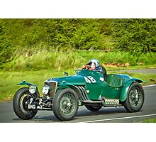 Riley Sports Car Photographic Print