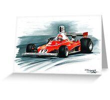 1975  Ferrari 312T Greeting Card