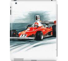 1975  Ferrari 312T iPad Case/Skin