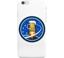 Beer Mug Rocket Ship Space Circle Retro iPhone Case/Skin