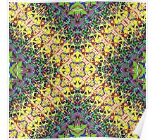 Abstract Colors Weave Poster
