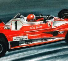 1976  Ferrari 312T2 Sticker
