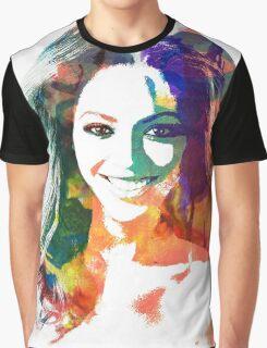 Beyonce watercolor portrait Graphic T-Shirt