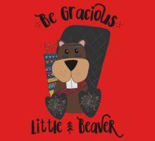 Woodland Beaver Kids Tee