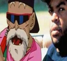 Master Roshi x Ice Cube collab Sticker