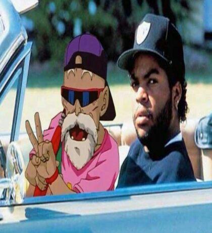 Master Roshi x Ice Cube collab Sticker