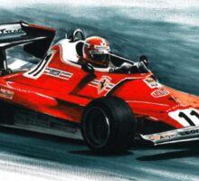 1977  Ferrari 312T2 Sticker