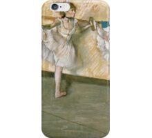 Edgar Degas - Dancers At The Bar iPhone Case/Skin