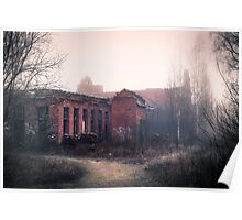 Abandoned match factory Poster