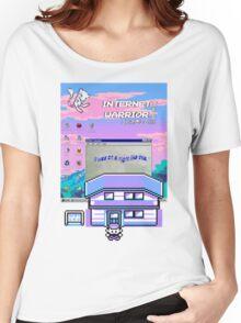 8-bit vaporwave aesthetics Women's Relaxed Fit T-Shirt