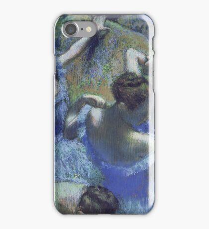 Edgar Degas - Blue Dancers iPhone Case/Skin