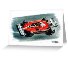 1978  Ferrari 312T3 Greeting Card