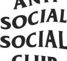Anti Social Social Club pocket logo Sticker