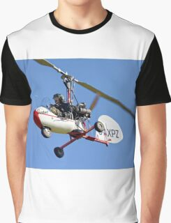 1969 Campbell Cricket Autogyro Graphic T-Shirt