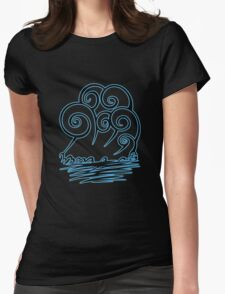 Water Water Womens Fitted T-Shirt