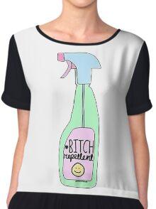 Bitch Repellent Chiffon Top
