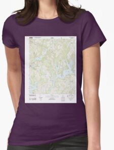 USGS TOPO Map Alabama AL Crane Hill 20110921 TM T-Shirt