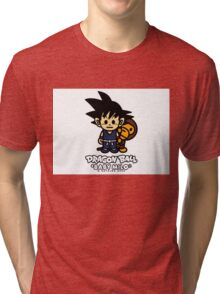 BAPE X Dragon Ball z and Baby Milo Tri-blend T-Shirt