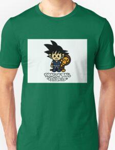 BAPE X Dragon Ball z and Baby Milo T-Shirt