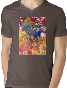 space junk  Mens V-Neck T-Shirt