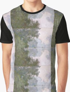 Claude Monet - Morning On The Seine Near Giverny Graphic T-Shirt