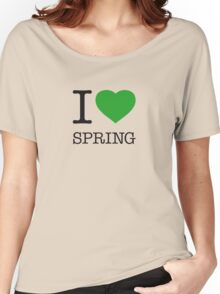I ♥ SPRING Women's Relaxed Fit T-Shirt