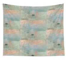 Claude Monet - Impression Sunrise Wall Tapestry
