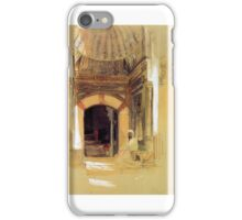 Lewis John Frederick Entrance to tomb of Sultan Bayezid Sun iPhone Case/Skin