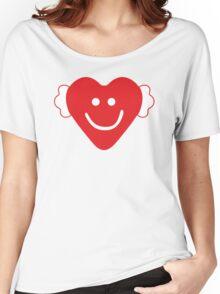 Cute Candy Heart - emerald Women's Relaxed Fit T-Shirt