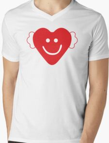 Cute Candy Heart - emerald Mens V-Neck T-Shirt