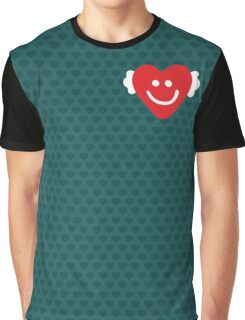 Cute Candy Heart - emerald Graphic T-Shirt
