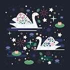 Swans on Stars  by CarlyWatts