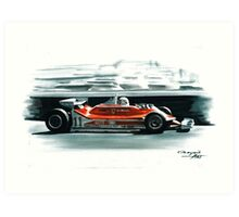 1979  Ferrari 312T4 Art Print