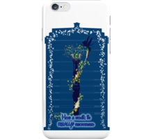 Sonic recharge, tardis variant iPhone Case/Skin