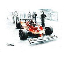 1980  Ferrari 312T5 Photographic Print
