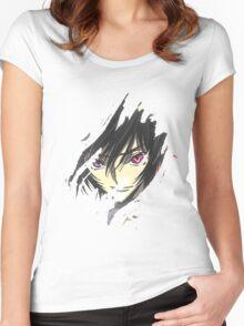 Lelouch Code Geass Women's Fitted Scoop T-Shirt