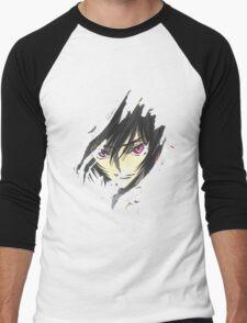 Lelouch Code Geass Men's Baseball ¾ T-Shirt