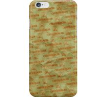 Burger Wrapper Phone Case iPhone Case/Skin