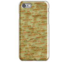 Burger Wrapper Phone Case iPhone Case/Skin