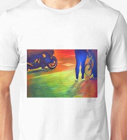 Riding along, 2014, 120-80cm, oil on canvas Unisex T-Shirt