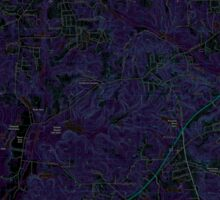 USGS TOPO Map Alabama AL Phenix City 20110923 TM Inverted Sticker
