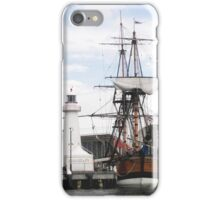 At Dock  iPhone Case/Skin