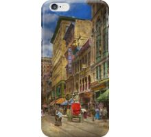 City - Providence RI - Living in the city 1906 iPhone Case/Skin