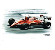 1982  Ferrari 126C2 Photographic Print