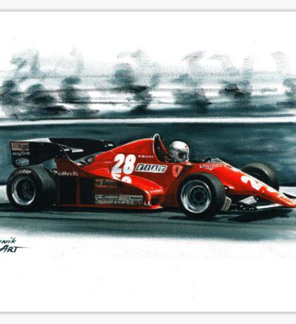 1983  Ferrari 126C2B Sticker