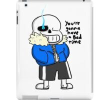 Sans - Bad Time - Undertale iPad Case/Skin