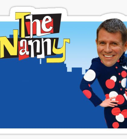 Mike Baird Nanny T-Shirt and Accessories Sticker