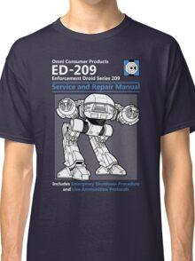 ED-209 Service and Repair Manual Classic T-Shirt